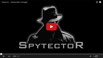 The Spytector helps the Supervision and Surveillance of your Computer